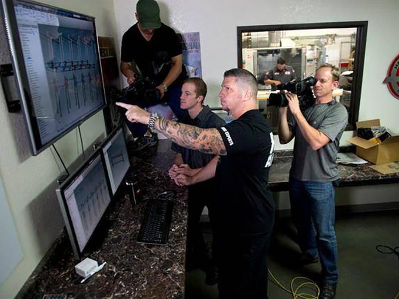 BAP Productions Camera Crew Sacramento and Northern California - Titan Media