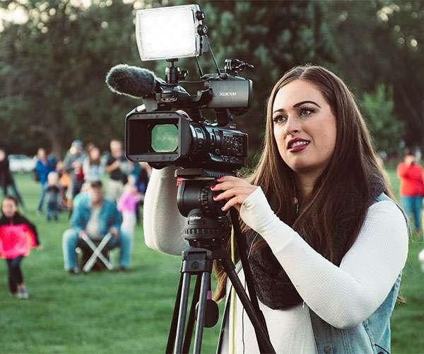 utilizing a video production